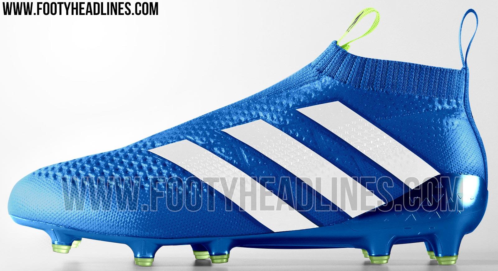 adidas ace 16 purecontrol sky blue green